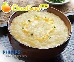 稠稠白米粥-巧变鸡蛋粥(4人份)的做法