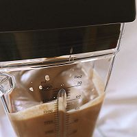 BOSCH维他汲享高速搅拌机评测食谱-橙香巧克力奶昔的做法图解9