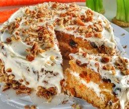味道浓郁营养丰富的胡萝卜蛋糕的做法