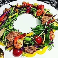 温暖沙拉Warm Salad花环色拉-蜜桃爱营养师健康食谱