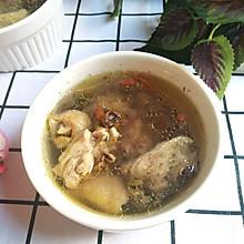 霍斛西洋参鸡腿汤
