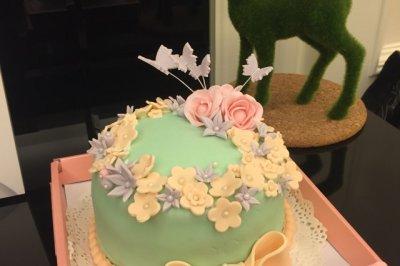 少女心梦幻翻糖蛋糕