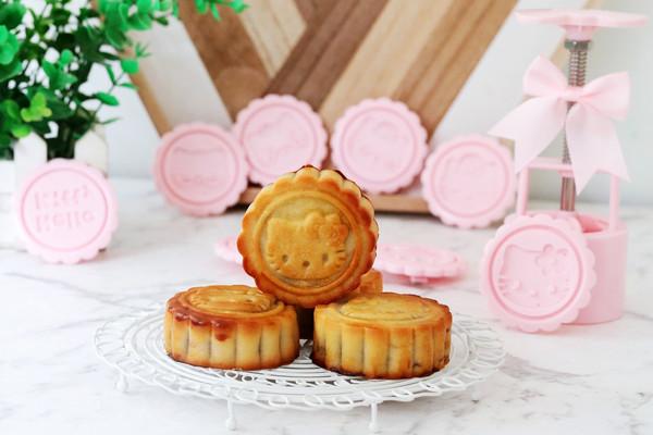 豆沙广式月饼的做法