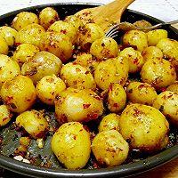 蒜香烤小土豆的做法图解5