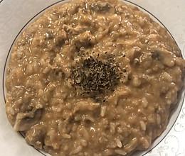 意式牛肉蘑菇烩饭的做法