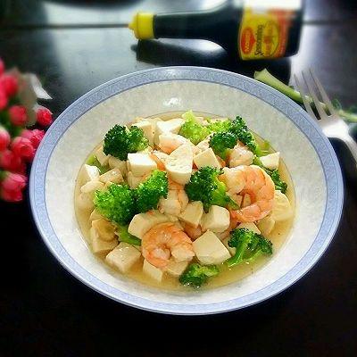 清淡豆腐虾仁