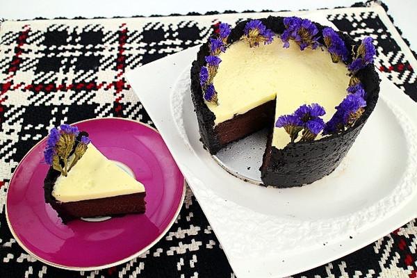 美国可可芝士蛋糕的做法
