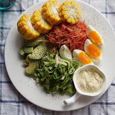 轻脂健身蔬菜沙拉