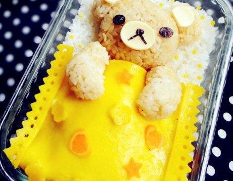 轻松熊咖喱饭——晚安小熊熊的做法