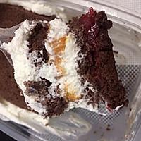 可可芒果盒子蛋糕(木糖醇)的做法图解15