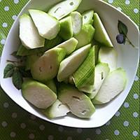 海米丝瓜汤的做法图解4