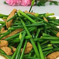 肉炒韭菜花#厨此之外,锦享美味#