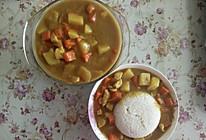 鸡肉土豆咖喱饭的做法