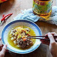 酸汤肥牛#金龙鱼营养强化维生素A纯香菜籽油#的做法图解10