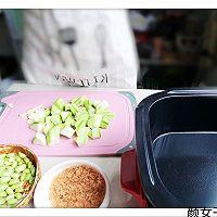 #小麦餐厅厨房#特色美食锅之虾皮黄豆烧黄瓜#特色美食新力量#的作法流程详解3