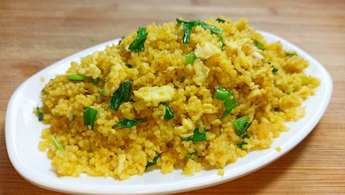 孩子爱吃的山西美食炒小米