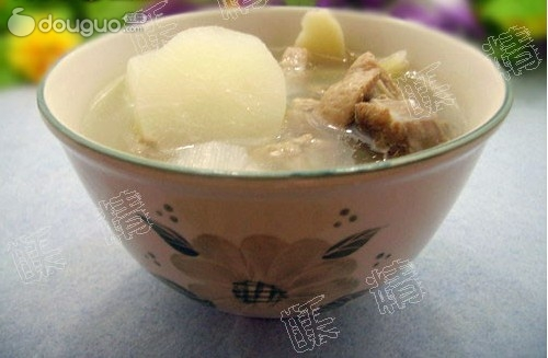 滋补营养的萝卜鸭汤的做法