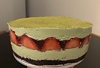 DoAtHome抹茶草莓果冻慕斯蛋糕的做法