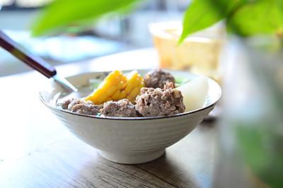 生汆牛肉丸子汤— 秋冬季养生必备