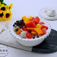 红豆椰浆芋圆水果捞