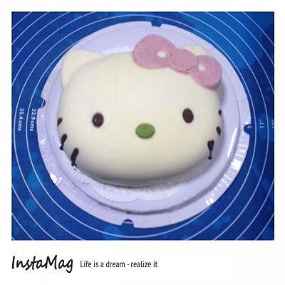 hello kitty慕斯冻芝士蛋糕