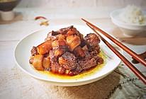 冬季必吃的一道硬菜#红烧肉炖干豆皮卷的做法