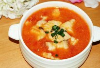 番茄鱼片汤#我要上首页清爽家常菜#的做法
