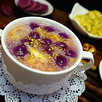 紫薯汤圆酒酿羹的做法图解13