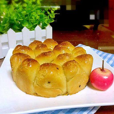 蜂蜜脆底面包(手揉出膜)