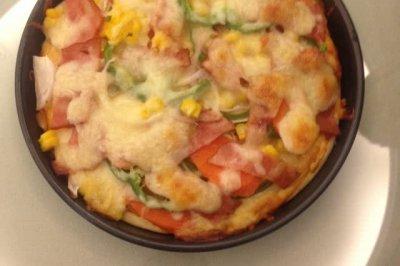 自制培根披薩