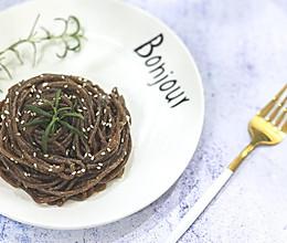 减脂餐·麻辣蕨根粉·10分钟快手菜的做法