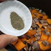 #精品菜谱挑战赛#一键式,糙米南瓜腊肉饭的做法图解6