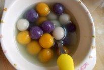 五彩糯米圆子的做法