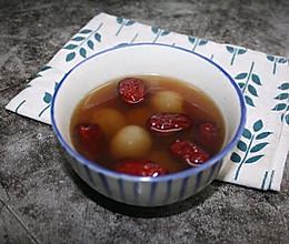 龙眼红枣汤的做法