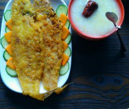 炸塔板鱼的做法