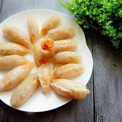 萝卜粉条水晶蒸饺