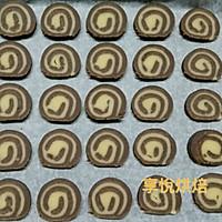 双色巧克力饼干的做法图解11