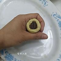 豆沙红薯丸,酥香软糯的做法图解5