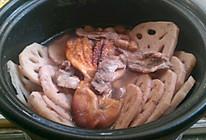 夏末秋初章鱼干莲藕汤的做法