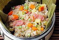 什锦豌豆糯米饭的做法