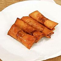 韭黄肉春卷-迷迭香的做法图解10