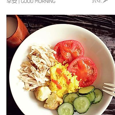 {轻食系}低脂健康五色早餐