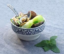 芥菜海蛤汤的做法