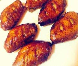 黑胡椒烤翅的做法