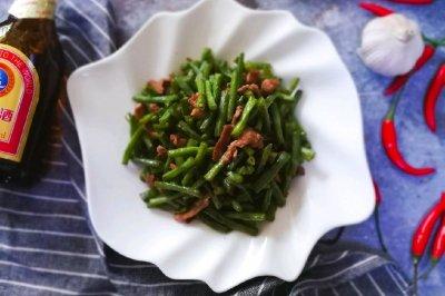 豇豆角炒肉