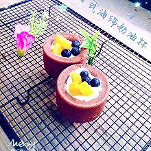 日式海绵奶油杯