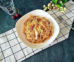 虾皮肉末蒸米粉#柏翠辅食节,营养佐餐#的做法