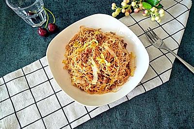 虾皮肉末蒸米粉#柏翠辅食节,营养佐餐#