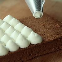 谁都能学会的裱花款式——可可蛋糕的做法图解10