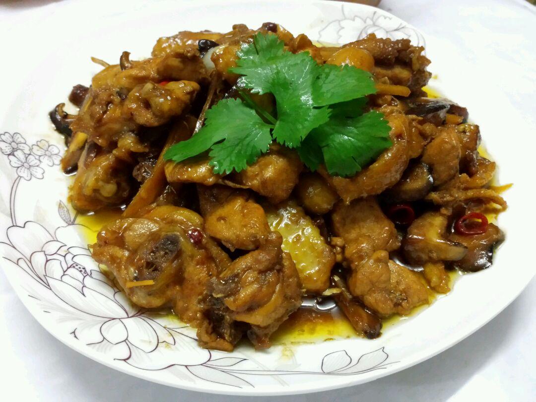 香菇焖鸡的做法_【图解】香菇焖鸡怎么做如何做好吃